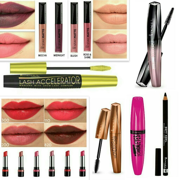 dbafb4adcce Rimmel Makeup   13x Lot Mascara Stay Matte Liquid Lipstick   Poshmark